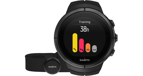 Suunto Spartan Ultra Titanium Watch Chest HR All Black